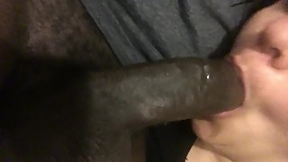 Ig_supermajorwave big cock black cumin in the trap wife's throat
