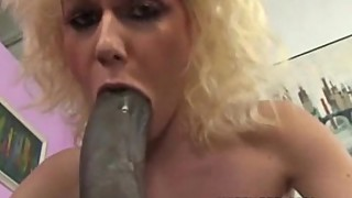 Blonde likes big black dick you are in her mouth and pussy