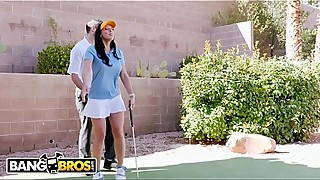 Bangbros-rachel starr, how are you guys playing golf, a teacher, and while her cuck husband in the newspaper