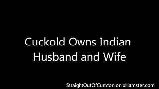 Cuckold indian husband and wife indian