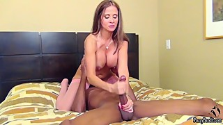 Hot sexy milf love a big black cock