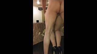 Nice cuckold hotwife bull hubby to be fucked by more than one performing