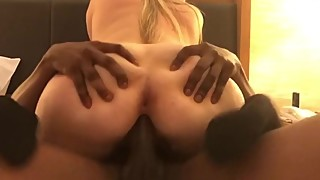 Amber heard (hottwife09) takes on a black cock and gets a hit