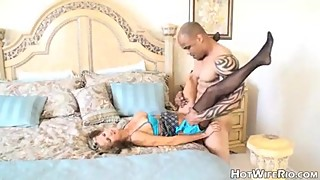 Hot wife rio fucked by a big black cock