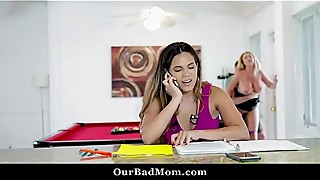 Horny milf fucks her boss in the office