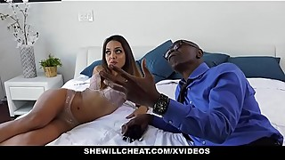 Shewillcheat - sexy young wife fucks huge black cock