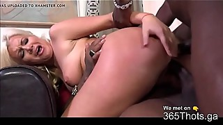 Spicy blond milf wants 2 black cocks for the dinner-365thots. ga