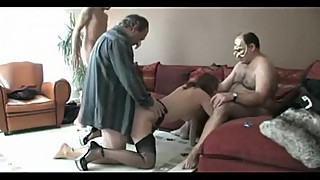 Woman training in older men decided to