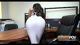 Ebony wife fucks her boss jayla fox