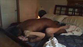 Wife creampie from a big black cock