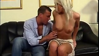 Blonde hotwife getting your married pussy fucked