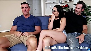 Whitney wright allanan ass gets fucked by bf in front of an old man!