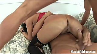 Mrs mandy bright, two dicks in her pussy