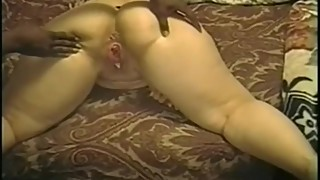Wife big black cock, while the dog beating style coach-