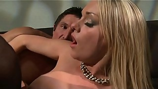 Angry wife fucks her lover, then husband
