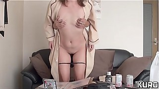 An amateur wife, whose husband is on a business trip 15 -gonzo, when i looked her in the ass tv-2-