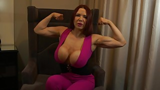 Cucked by a muscle woman