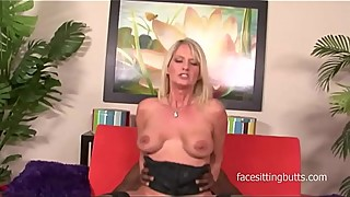 Brigitte, the mother lay some big black cock