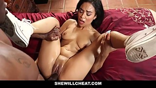 Shewillcheat-hot cheating wife has a black friend