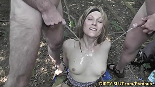 Free blonde wife gangbanged by strangers