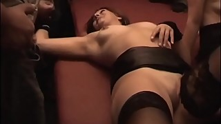 Cumdrinkingwife-gangbanged and cum drenched by 32 people-see also. cuckoldplayground.com