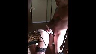 Big video big black cock fuck his wife in her college, and then came in her ass