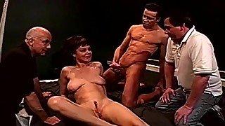 Dp anal threesome swinger wife fuck strangers