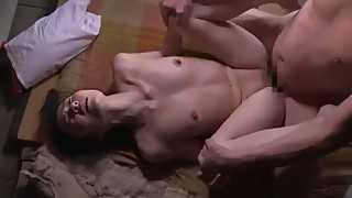 Japanese wife fuck by father in law from 2018
