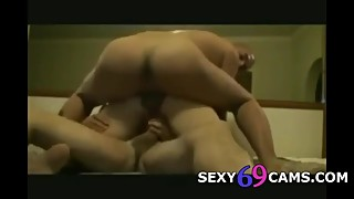 My wife in dp a threesome with my best friend