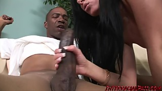 Hot wife nadia finally gets the big black cock she craves