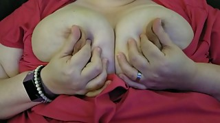 Bbw wife work with the revolution. direct number to the nipples. even semen
