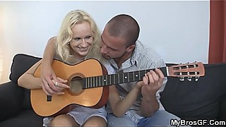 Czech blonde is lured into sex bf039_s brothers