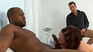 The woman, katie kox kiss big dick black cuckold eats hours the cream puff! wtf!!