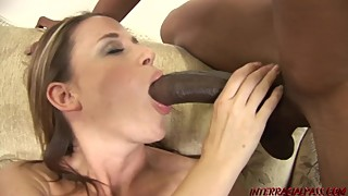 His beautiful wife, kelly needs big black cock and squirts all over a dream come true