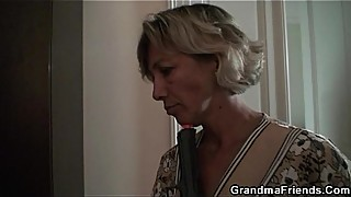 Surprise with mature women