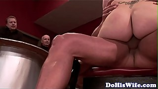 Cuckolding milf pounded doggystyle