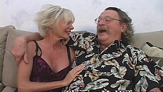 Mature couple swing young cock