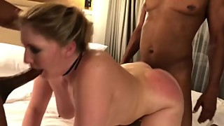 The amber heart (hottwife09 big black cock spitroast