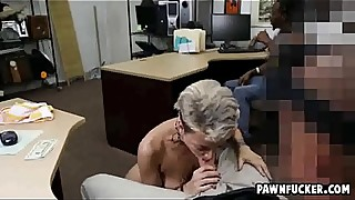 Black guy looks like the tattoo girl sucks thick white dick