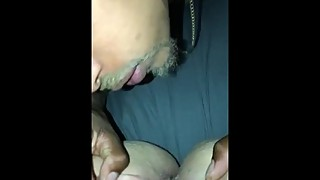 Cheating wife coward, too, and she cums on big black penis