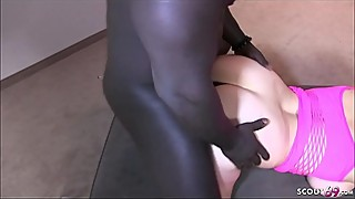 The woman, german mature woman gets tied up by husband and black huge cock fucked