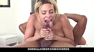 Shewillcheat - blonde latina cuban wife loves thick black cock