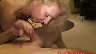 Stunning blonde milf gets nailed the stepson