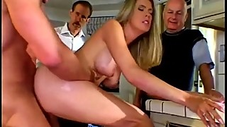 Hot milf gets fucked by a stranger