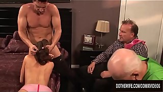 His wife veronica avluv loves to be in your hands, and with her husband as she fucks and squirt